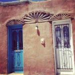 2 doors, new mexico, adobe