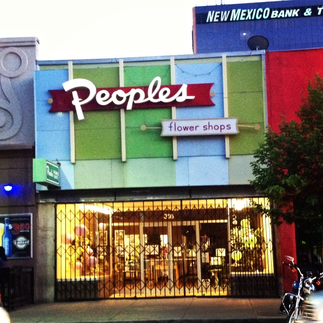 peoples flower shop, albuquerque