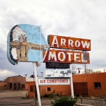 arrow motel, new mexico