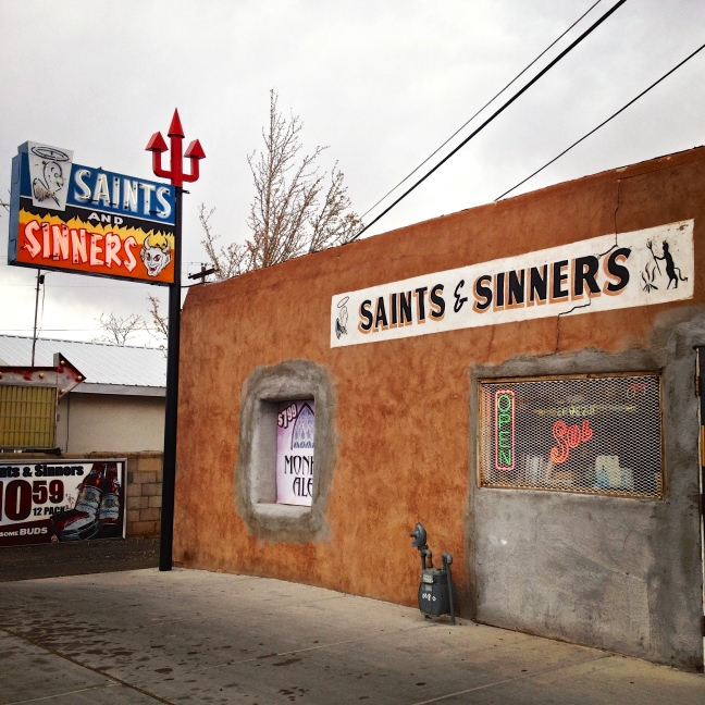 saints & sinners, liquor store