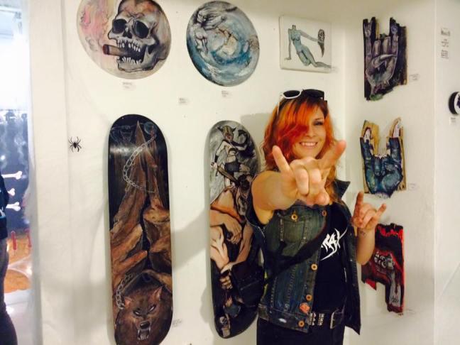 April Jones - Dream Evil Art Show